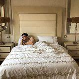 César Toral, Escaleto en 'Sálvame', desnudo en su cama