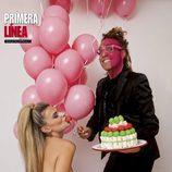 María Lapiedra posa desnuda junto a Torito en Prímera Línea