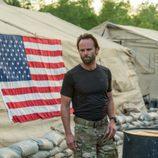 El actor Walter Goggins es el líder del grupo de militares en Six'