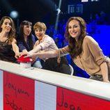 Ruth Lorenzo, Rossy de Palma, Anabel Alonso y Ana Milán, primeras invitadas de 'El gran reto musical'