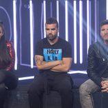 Elettra, Tutto, Toño en la sala de expulsión durante la cuarta gala de 'GH VIP 5'
