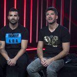 Tutto Durán junto a Toño Sanchís en la sala de expulsión en la cuarta gala de 'GH VIP 5'
