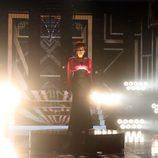 Lorena se mete en la piel de Whitney Houston en la decimosegunda gala de 'Tu cara me suena'