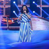 Yolanda Ramos imita a Remedios Amaya en la decimosegunda gala de 'Tu cara me suena'