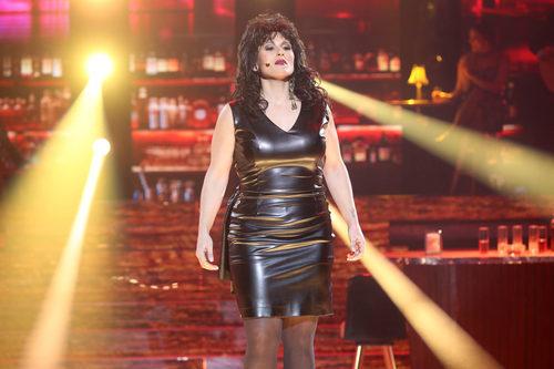 Rosa López imita a Luz Casal en la decimosegunda gala de 'Tu cara me suena'