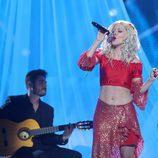 Beatriz Luengo encarna a Christina Aguilera en la decimosegunda gala de 'Tu cara me suena'