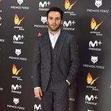Ricardo Gómez en la alfombra roja de la gala Premios Feroz 2017
