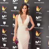 Natalia de Molina en el photocall de la alfombra roja de los Premios Feroz 2017
