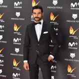 Antonio Velázquez en la alfombra roja de los Premios Feroz 2017
