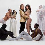Lola Ortiz ('MYHYV') se abraza desnuda a Torito