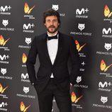 Daniel Grao luce esmoquin en la alfombra roja de los Premios Feroz 2017
