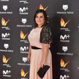 Inma Cuevas posa en la gala de los Premios Feroz 2017