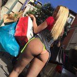 Daniela Blume ('GH VIP 5') sube la temperatura hasta para cuando se va de compras