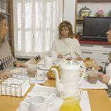 Terelu, María Teresa y Carmen disfrutan del desayuno en 'Las Campos'