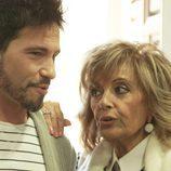 María Teresa y David DeMaría en 'Las Campos'