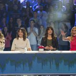 Tamara, Melani Olivares, Sonia Ferrer y Ana Obregón en 'El gran reto musical'