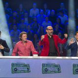 El equipo masculino del segundo programa de 'El gran reto musical'