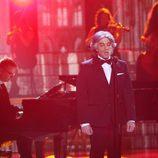 Blas Cantó es Andrea Bocelli en la decimotercera gala de 'Tu cara me suena'