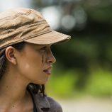 Rosita aparece con una cicatriz en la segunda parte de la T7 de 'The Walking Dead'