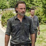 Rick Grimes vuelve a Alexandría en la segunda parte de la T7 de 'The Walking Dead'