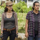 Rosita y Tara, en la segunda parte de la T7 de 'The Walking Dead'