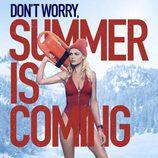 """Kelly Rohrbach promocionando """"Vigilantes de la playa"""""""