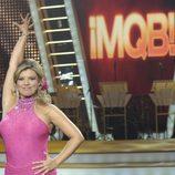 Terelu Campos concursando en el plató de '¡Mira quien baila!'