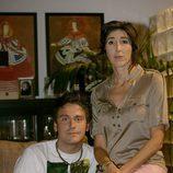 Yago (Guillermo Martín) y Flor (Paz Padilla)