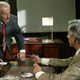 Don Pablo y Antonio Alcántara discuten