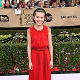Millie Bobby Brown ('Stranger Things') en la alfombra roja de los SAG Awards 2017