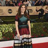 Mayim Bialik ('The Big Bang Theory') en la alfombra roja de los SAG Awards 2017