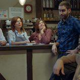 Jon Plazaola, Maribel Salas y Santi Ugalde en la tercera temporada de 'Allí abajo'