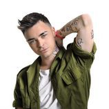 Mario Jefferson, en las fotos promocionales de 'Objetivo Eurovisión'