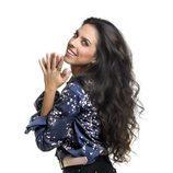 Mirela Cabero, en las fotos promocionales de 'Objetivo Eurovisión'