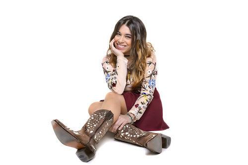 Paula Rojo, en las fotos promocionales de 'Objetivo Eurovisión'