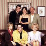 Reparto principal de la serie 'El súper', protagonista de las tardes de Telecinco a finales de los 90