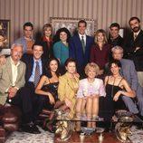 El reparto de 'El Súper' al completo, serie de finales de los 90 en Telecinco