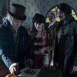 Pedro Casablanc, Aura Garrido Hugo Silva y Nacho Fresneda en la tercera temporada de 'El Ministerio del Tiempo'