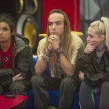Elettra Lamborghini, Aless Gibaja y Daniela Blume en la sexta gala de 'GH VIP 5'