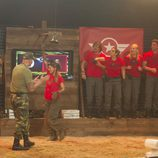 Ivonne Reyes durante la prueba militar de la sexta gala de 'GH VIP 5'