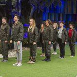 Los concursantes de 'GH VIP 5' en la prueba militar de la sexta gala