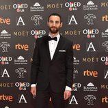 Dani Rovira, el presentador de los Goya 2017, en la alfombra roja
