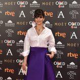 Ana Álvarez en los Premios Goya 2017