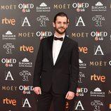 Guillermo Barrientos en los Premios Goya 2017