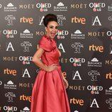 Cristina Rodríguez en los Premios Goya 2017