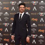 José Manuel Seda en la alfombra de los Goya 2017