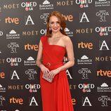 Cristina Castaño en los Premios Goya 2017