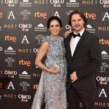 Ana Turpin y Carlos Castel en los Goya 2017