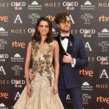 Macarena Gómez y Aldo Comas en los Premios Goya 2017