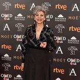 Kiti Mánver en los Premios Goya 2017